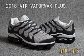 air vapormax plus baskets basses gray black